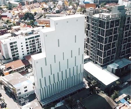タイ(バンコク) タワー式5連棟